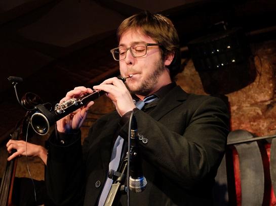 Barcelona 08-01-2014 Concert de Inxa Impro Quartet al Jamboree. Foto Pere Monés